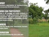 Vernacular African Architecture Residency