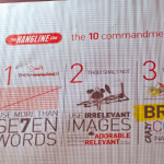 10 Commandments of Outdoor Advertising Poster Close-Up