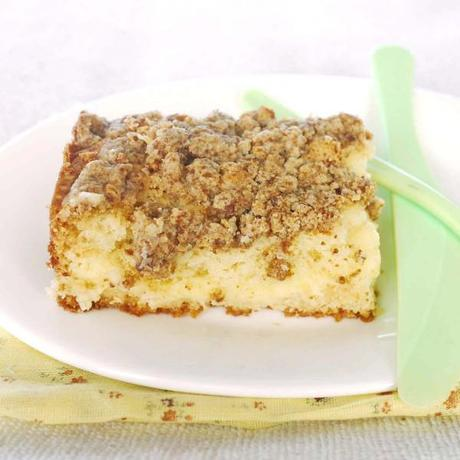 Buttery Crumb Coffee Cake Made With Cake Mix