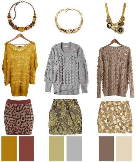 Skirts + Sweaters…