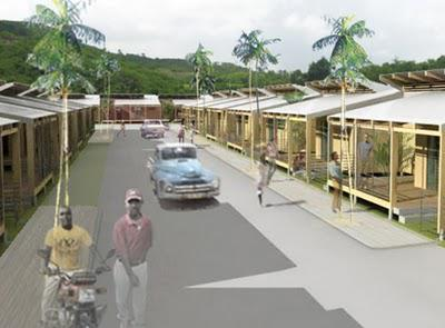 On the Boards: Comprehensive Plan for the reconstruction of Jacmel, Haiti