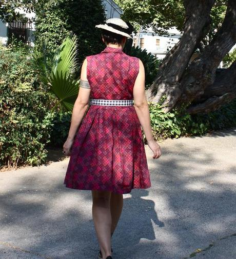 outfit post: Plaid is the NEW Polka Dot