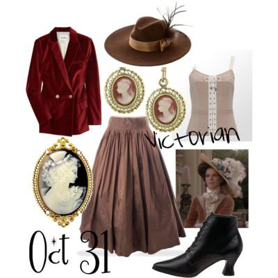 Halloween Costume - Victorian Lady