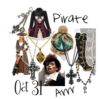 Halloween Costume - Pirate Arrr