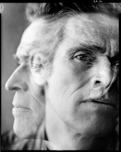 Dusan Reljin photographs Willem Dafoe for Interview Russia, Aug 2012-2