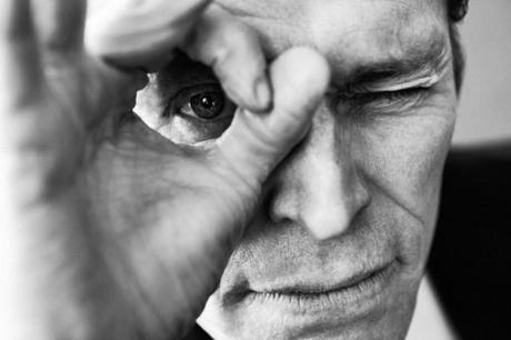 Dusan Reljin photographs Willem Dafoe for Interview Russia, Aug 2012