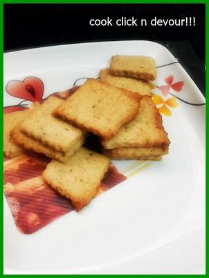 Carom seeds biscuits (Oma biscuit)