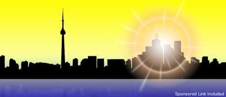 Sunny Toronto Skyline