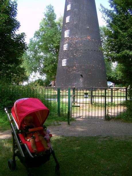 Windmill at Humber Bridge Country Park