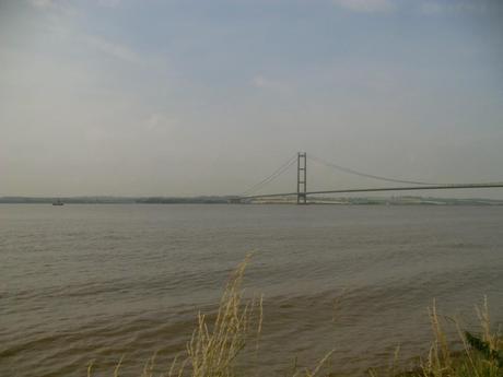 Humber Bridge from Hessle Foreshore