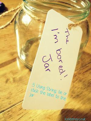 DIY - The Bored Jar