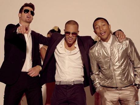 Robin Thicke, T.I. and Pharrell Williams