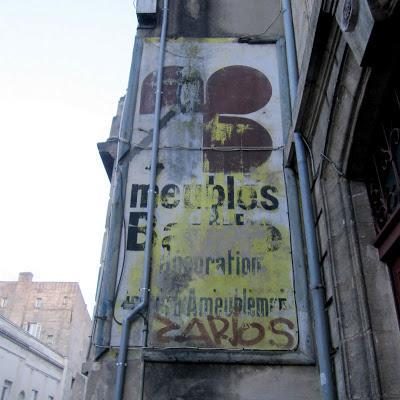 Ghost signs in and around Bordeaux, chapter 4