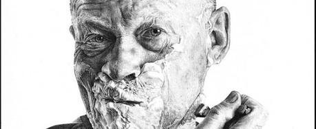 Hyper-Realistic Pencil Drawings of Everyday Reflections