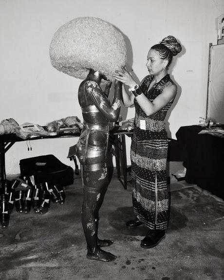 MAC @ Isamaya Ffrench Backstage SS14 Berlin Fashion Week