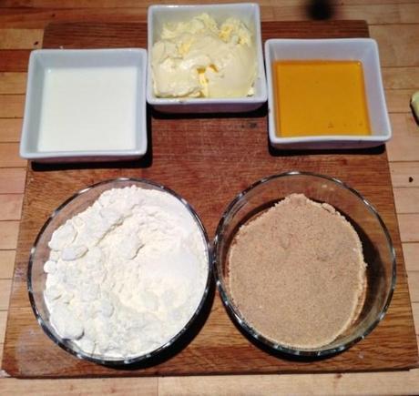 basic cookie ingredients original bero recipe flour brown sugar milk butter golden syrup