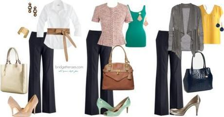 Mix-and-match work looks
