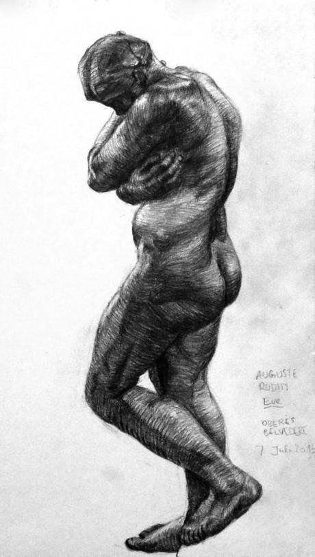 Copy after Rodin, Eve, Oberes Belvedere, Wien