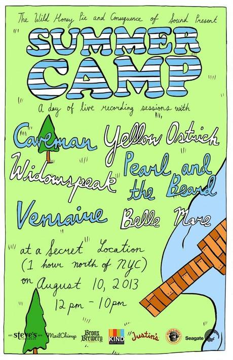 summercampposter2 662x1024 SPEND A DAY RELIVING YOUR YOUTH WITH YOUR FAVORITE BANDS, RSVP FOR SUMMER CAMP