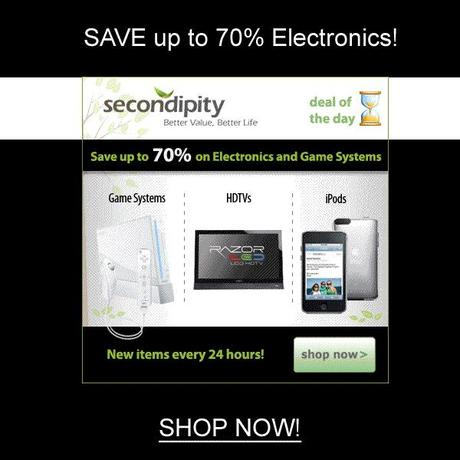 Secondipity.com Deal of the Day!