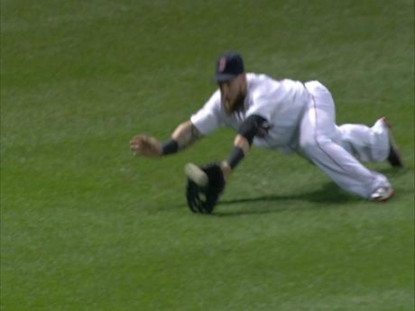 Jonny Gomes Pulls Off The Rare Unassisted Double Play From The Outfield