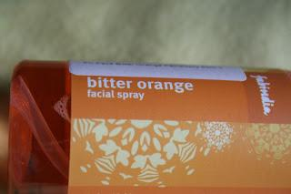 Review Fab India Bitter Orange Facial Spray