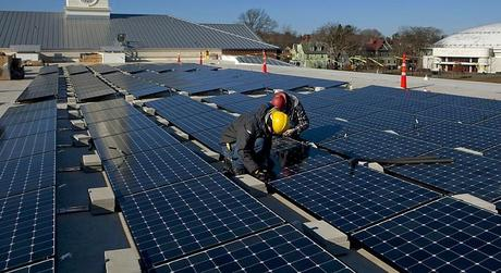 Added Benefit Of Installing Solar Panels: Keeps Buildings Cool In Summer Heat