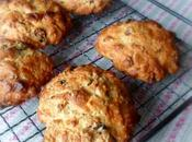 Cranberry, Ginger White Chocolate Rock Cakes