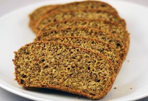 Low carb coconut flour bread