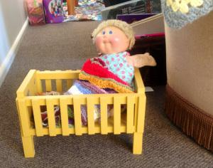 SPCA Op Shop Woolston Crib Cabbage Patch Kid