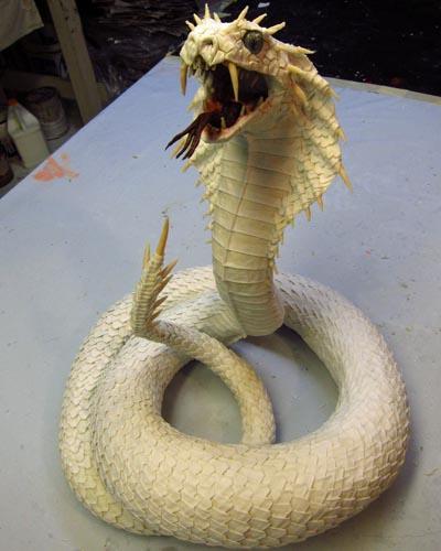 Дракон своими руками змея