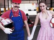 Super Mario Finally Gets Married Princess Peach.. Well, Sort