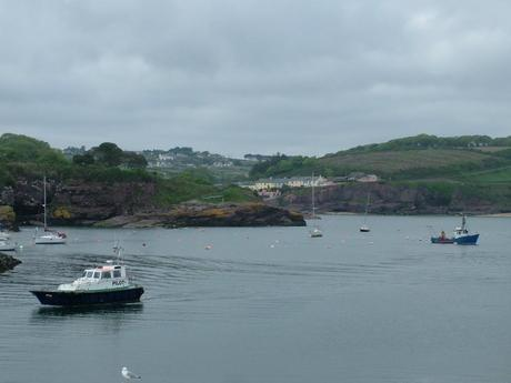 dunmore east harbor in  county waterford - ireland