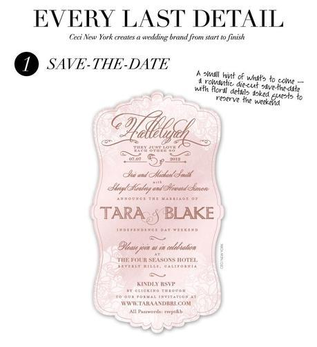wedding_branding_roses_save_the_date_roses_ceci_johnson_v152_cct,wedding invitation, wedding invitation suite, multiple block fonts combined with script belluccia font, Lettering Art Studio, Debi Sementelli
