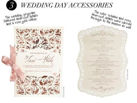 wedding_branding_roses_luxury_menu, wedding invitation, wedding invitation suite,  wedding program, Lettering Art Studio, Debi Sementelli