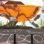 More Anti-Tesco vandalism
