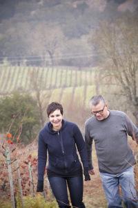 Jane Portalupi and Tim Borges, Portalupi Winery
