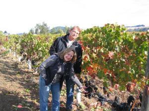 Betsey & Bill Nachbaur, Acorn Winer/Alegria Vineyards