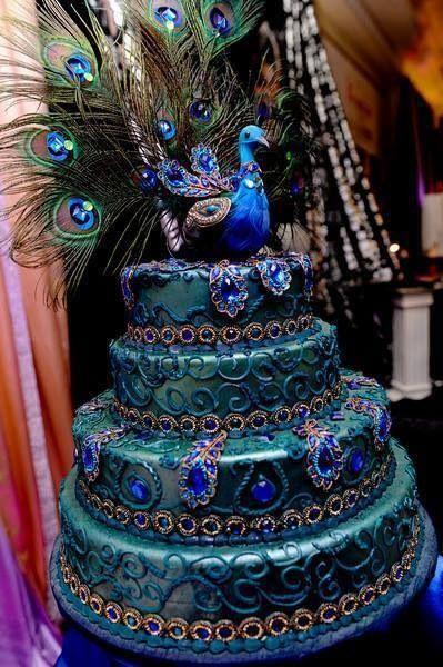 Cake Designs Awesome : 5 Amazing Bird Wedding Cakes - Paperblog