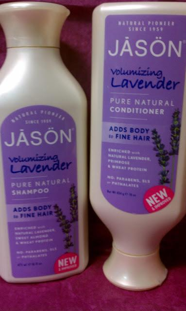 Product Review || JASON Volumizing Lavender Shampoo and Conditioner