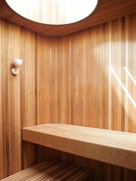 5 modern saunas paperblog. Black Bedroom Furniture Sets. Home Design Ideas