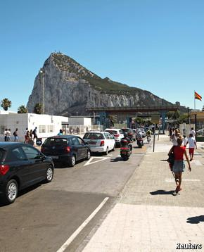 Spain and Gibraltar: Like North Korea?