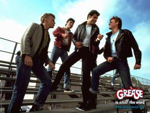 This is the only thing I know about greasers. Image from greasemovie.com