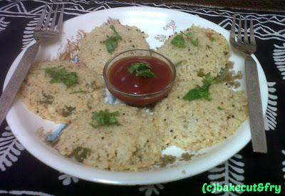 Vegetable Dalia Idli