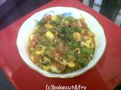 Jhatpat Corn-paneer Sabzi with Twist