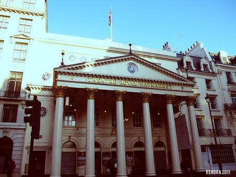 Theatre Royal, Haymarket. Vivien Leigh performed here in The Doctor's Dilemma, 1942