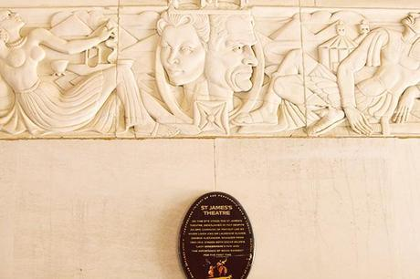 Vivien Leigh and Laurence Olivier Theatreland Plaque