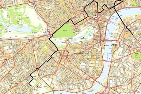 Vivien Leigh London Map