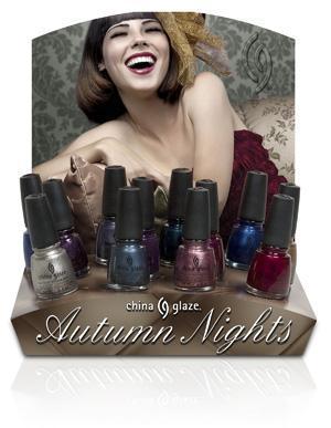 China Glaze - Autumn Nights Press Release