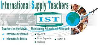 Job Site: International Supply Teachers